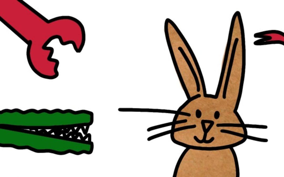 Dieren tekenen op 3 verschillende manieren