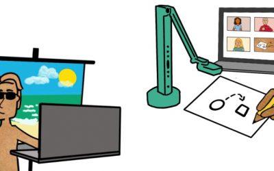Tips om een digitaal overleg visueler te maken