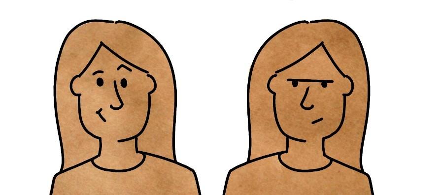 Leer gezichtsuitdrukkingen tekenen bij zakelijk tekenen