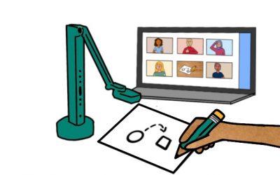 Tekenen tijdens een digitale vergadering